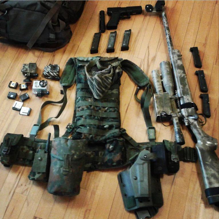Equipement airsoft sniper