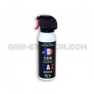 Aérosol de défense au gaz lacrymogène