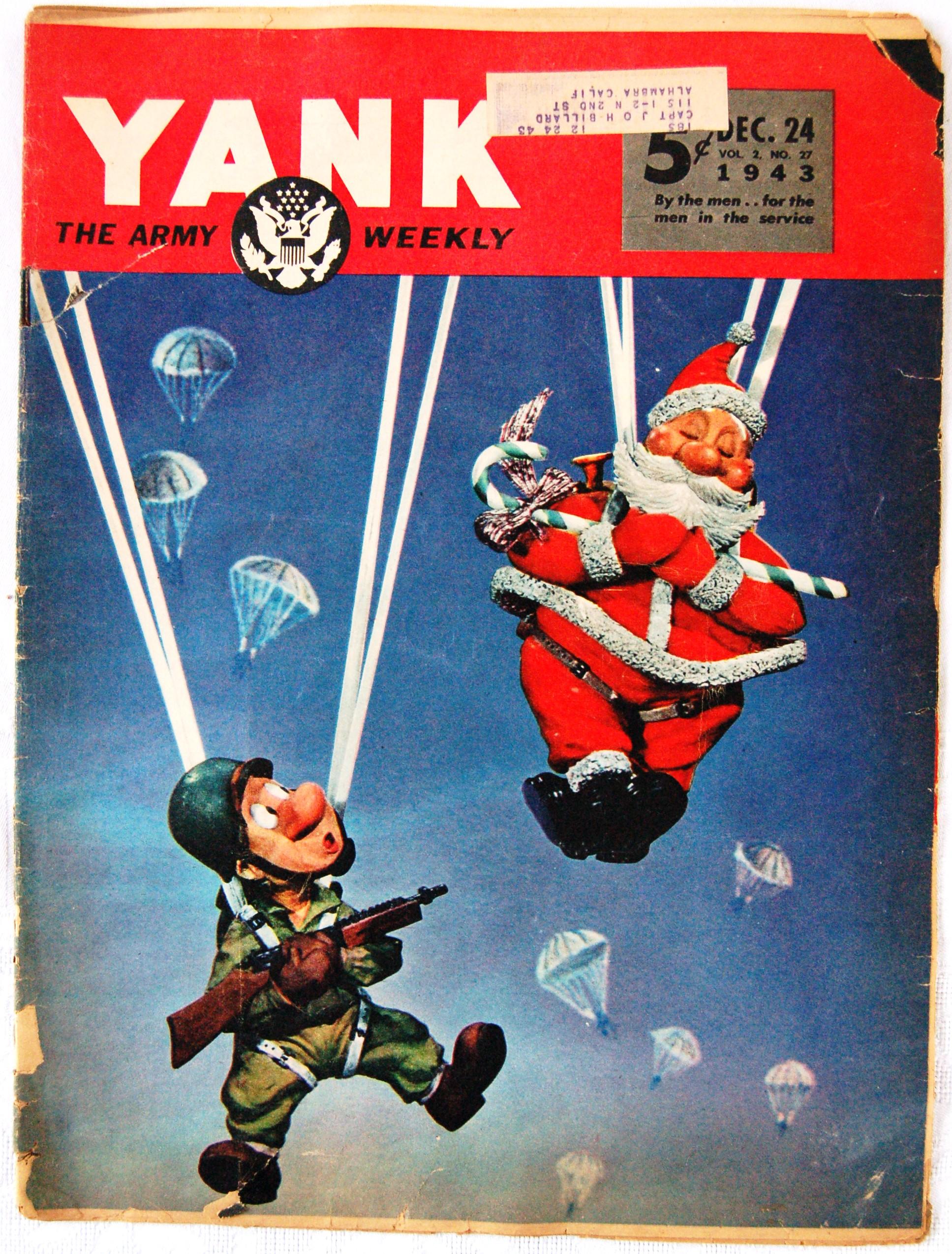 N°24 décembre 1943 du magazine militaire américain YANK