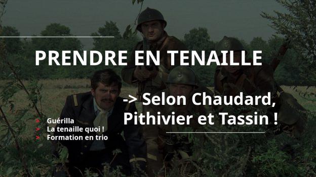 Soldats en embuscade dans le film La Septième Compagnie