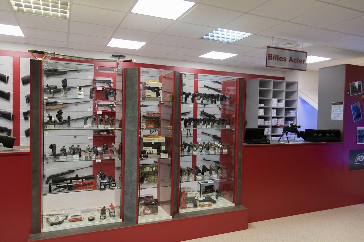 Boutique Gun Evasion : Tirer en Airgun