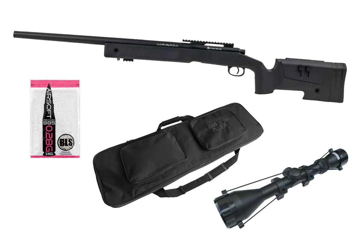 Pack de sécurité sur la carabine à plomb