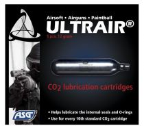 5 CARTOUCHES CO2 LUBRIFIANT POUR L\'ENTRETIEN