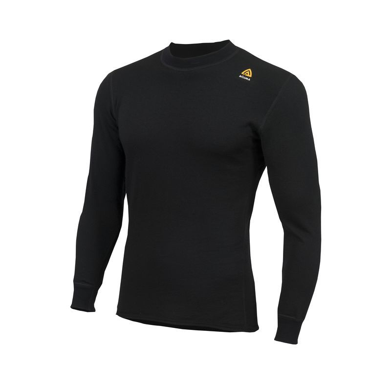 ACLIMA HOTWOOL 230G SHIRT CREW NECK NOIR