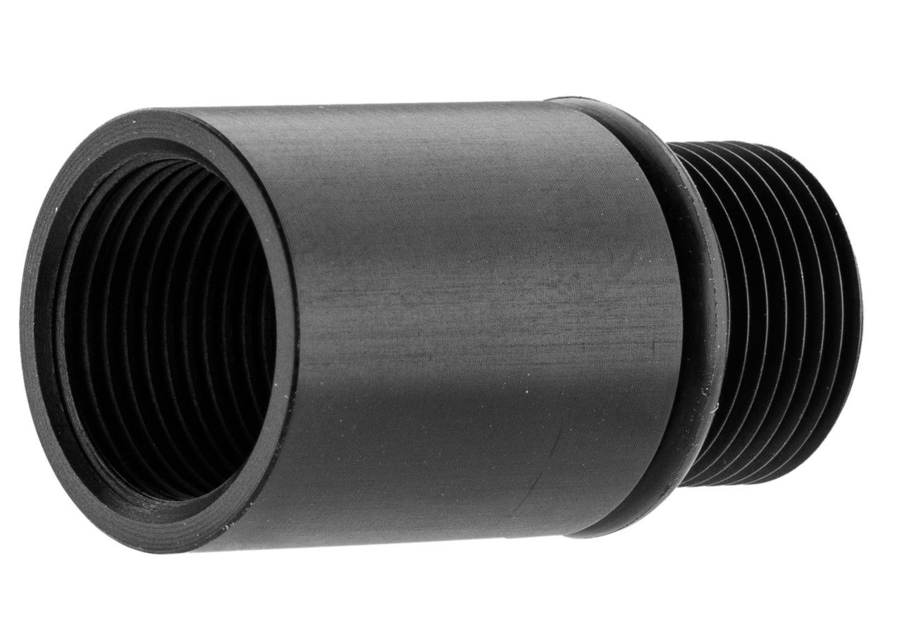 Adaptateur silencieux 14mm+ vers 14mm-