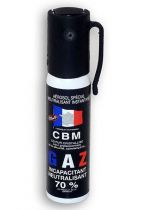 AEROSOL DE DEFENSE ANTI AGRESSION GAZ CS 25ML NF 70%