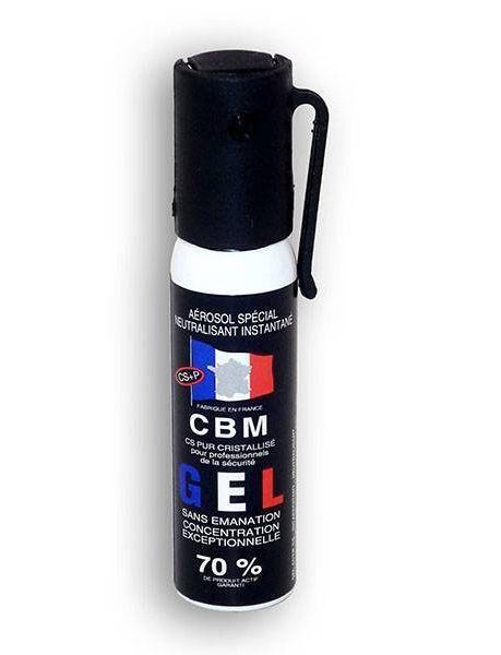 AEROSOL DE DEFENSE ANTI AGRESSION GEL CS 25ML NF 70%