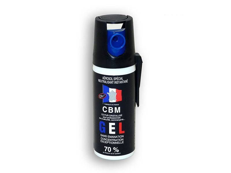 AEROSOL DE DEFENSE ANTI AGRESSION GEL CS 50ML NF 70%