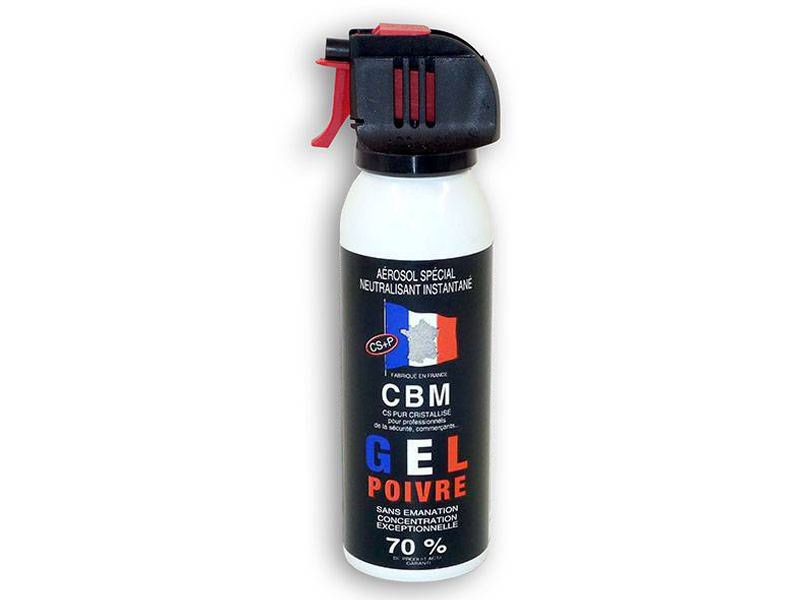 AEROSOL DE DEFENSE ANTI AGRESSION GEL POIVRE 100ML NF 70%