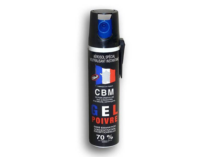 AEROSOL DE DEFENSE ANTI AGRESSION GEL POIVRE 75ML NF 70%
