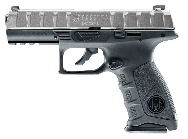 AIRGUN BERETTA APX CO2 CULASSE SILVER CALIBRE 4.5