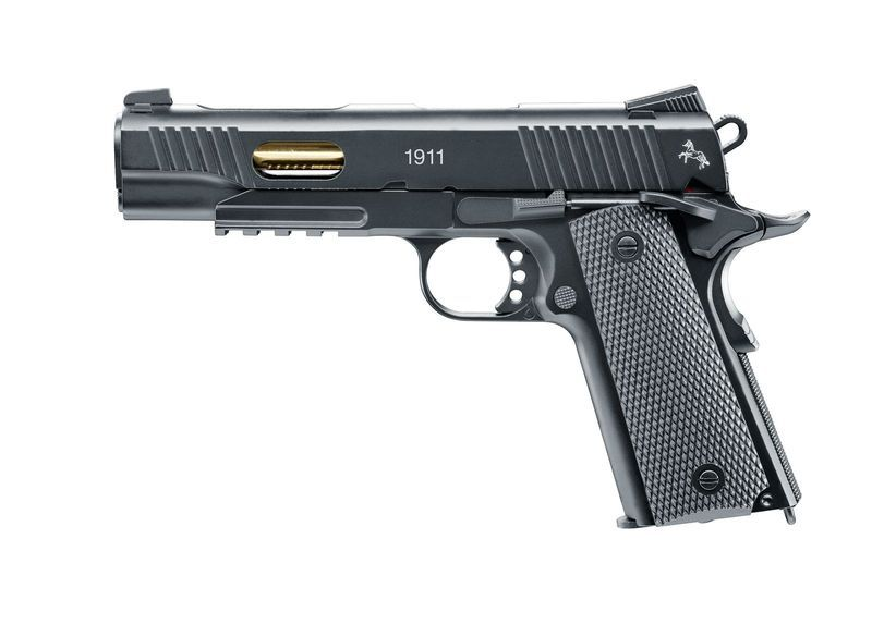 AIRGUN COLT 1911 CUSTOM CO2 CALIBRE 4.5 BLOWBACK