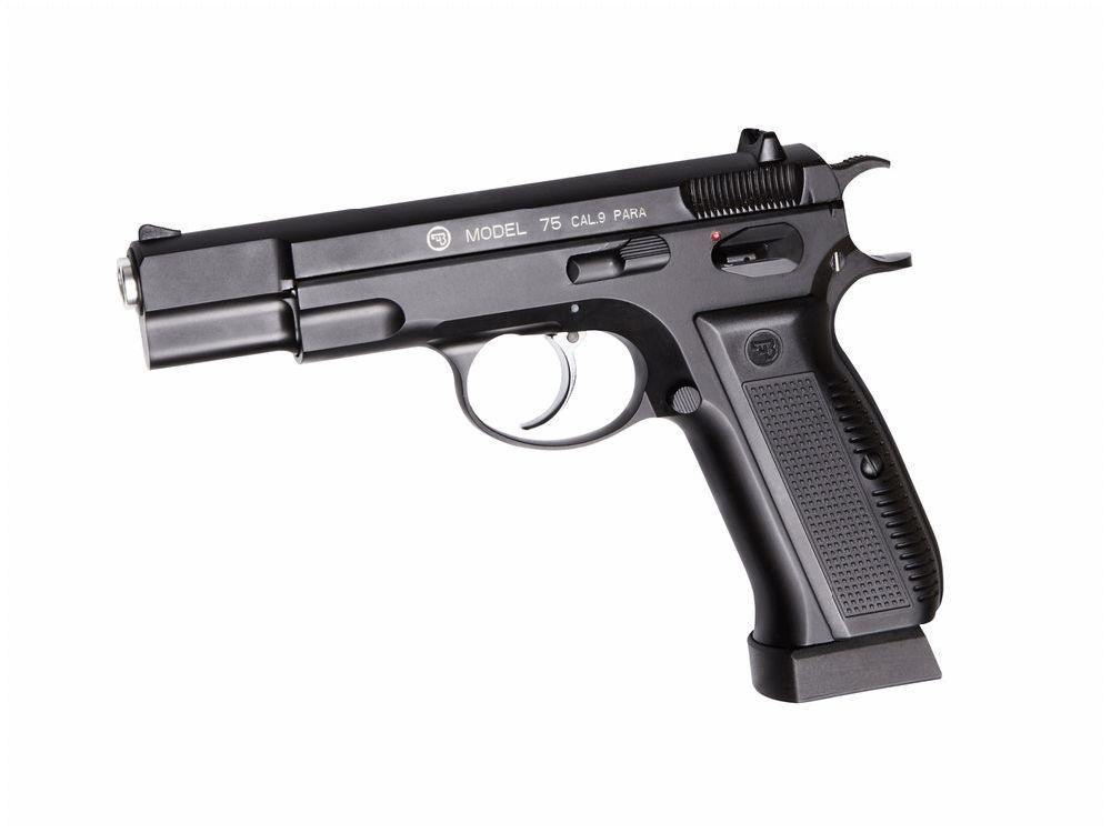 AIRGUN CZ 75 CO2 PARA CULASSE MOBILE BLOW BACK BB ACIER 4.5