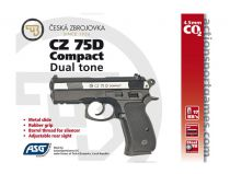 AIRGUN CZ 75 D COMPACT DUAL TONE FULL METAL