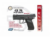 AIRGUN CZ 75 P-07 DUTY BLOWBACK