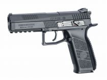 AIRGUN CZ P-09 BLOWBACK A BILLES ACIER OU PLOMBS 4.5