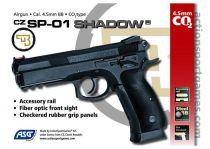 AIRGUN CZ SP-01 SHADOW CO2 4.5