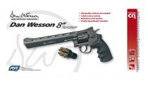 AIRGUN DAN WESSON CO2 8\'\' NOIR FULL METAL BBS 4.5