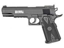 Airgun P1911 Match Swiss Arms billes acier 4.5