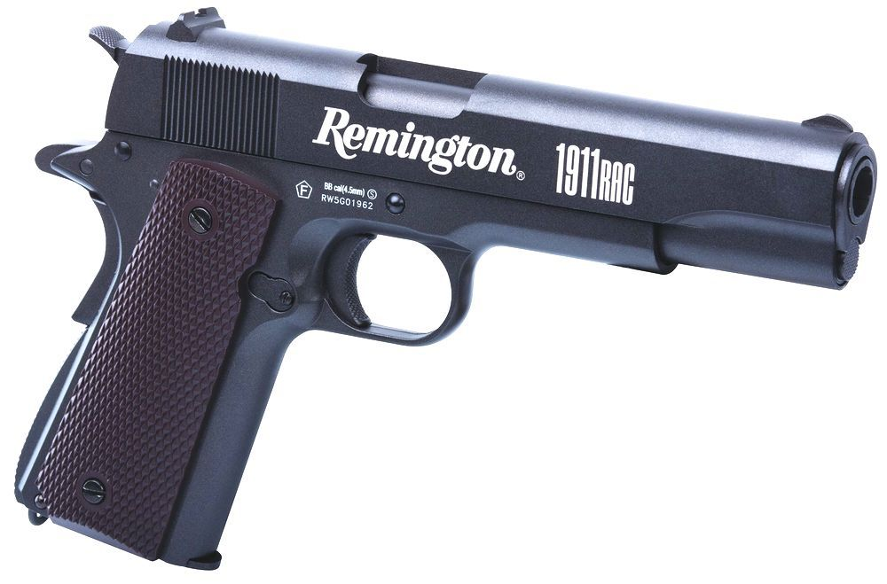 AIRGUN PISTOLET BILLES ACIER 4.5 REMINGTON 1911RAC