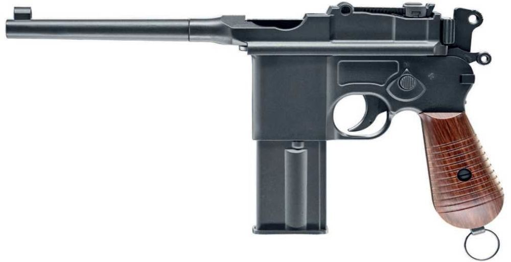 AIRGUN PISTOLET LEGENDES C96 FM CAL 4.5 BILLES ACIER