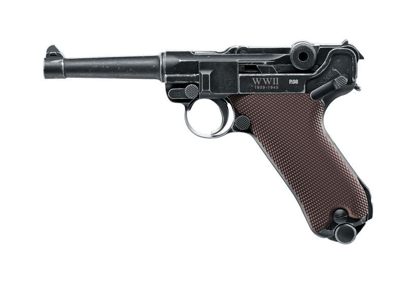 AIRGUN PISTOLET LEGENDS P08 END OF WWII CO2 CALIBRE 4.5