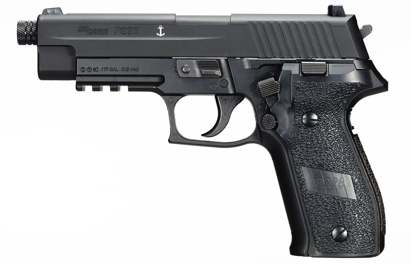 Airgun Pistolet Sig Sauer P226 Noir Co2 Blowback plombs 4,5 mm 2,8 J