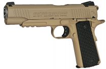 Airgun SA 1911 Military Rail Pistol Blowback CO2 Full Metal