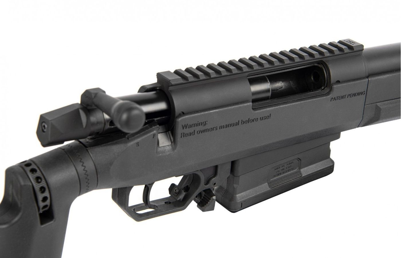 Airsoft Amoeba Striker Tactical AST-01 Bolt Action Rifle Black