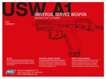Airsoft B&T USW A1 CO2 Full Metal Bllowback