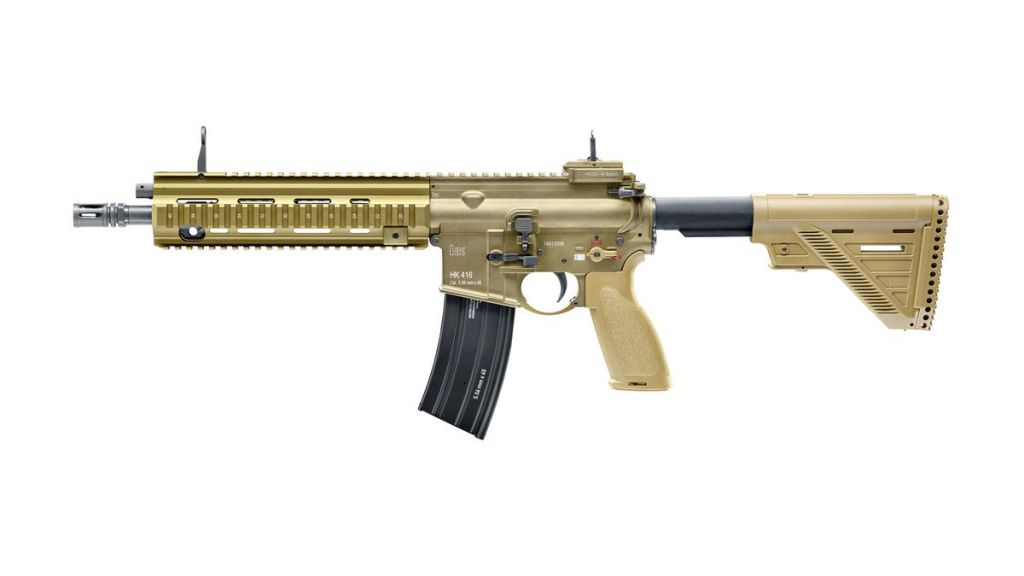 Airsoft HK416 A5 Tan Umarex full métal 6mm bbs