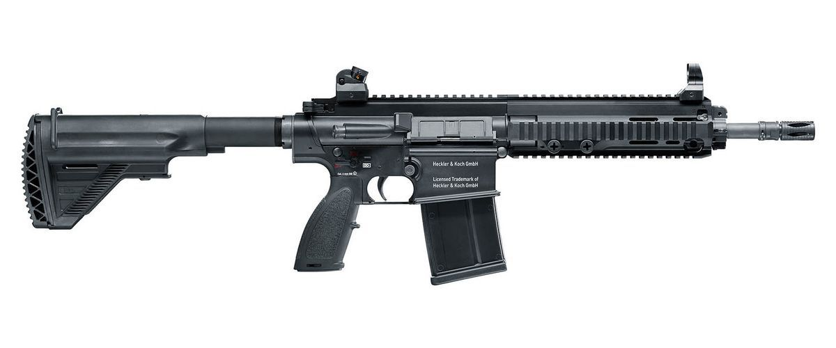Airsoft HK417D Umarex full métal Gaz GBBR