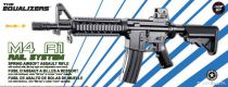 Airsoft Plan Beta Fusil M4 A1 Rail System Noir SPRING 0.41J