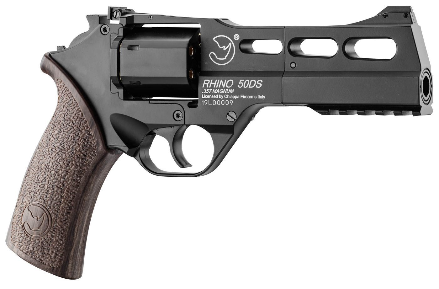 Airsoft Revolver Chiappa Rhino 50 DS 6mm 0,95J Black Mat
