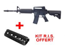 Apex Fast Attack M4 Carbine Noir SLV Airsoft AEG Pack Complet + Kit RIS