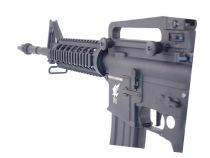 Apex Fast Attack M4 RIS Carbine Noir Airsoft Sportline AEG 1.2J Pack Comple