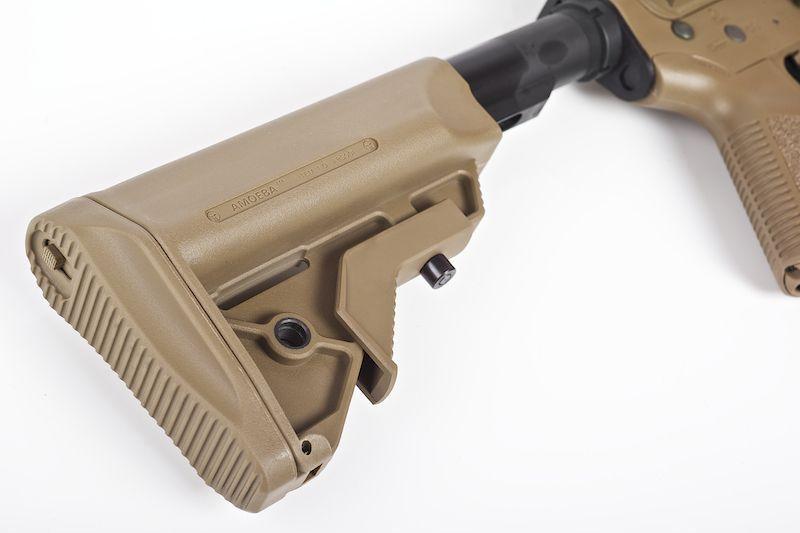 ARES AMOEBA M4 CG-002 TAN AVEC ELECTRONIC FIRING CONTROL