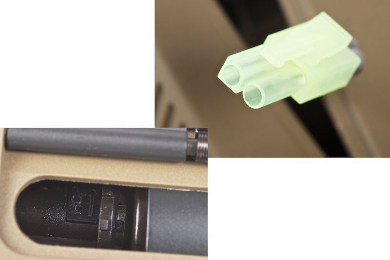 ARES AMOEBA M4 CG-003 TAN ELECTRONIC FIRING CONTROL DESERT