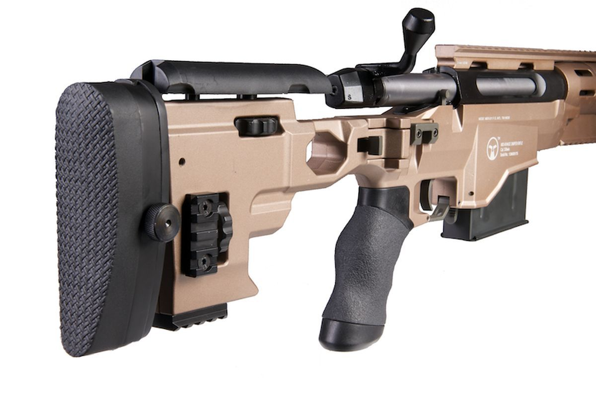 ARES MSR338 Sniper Spring Tan Dark Earth