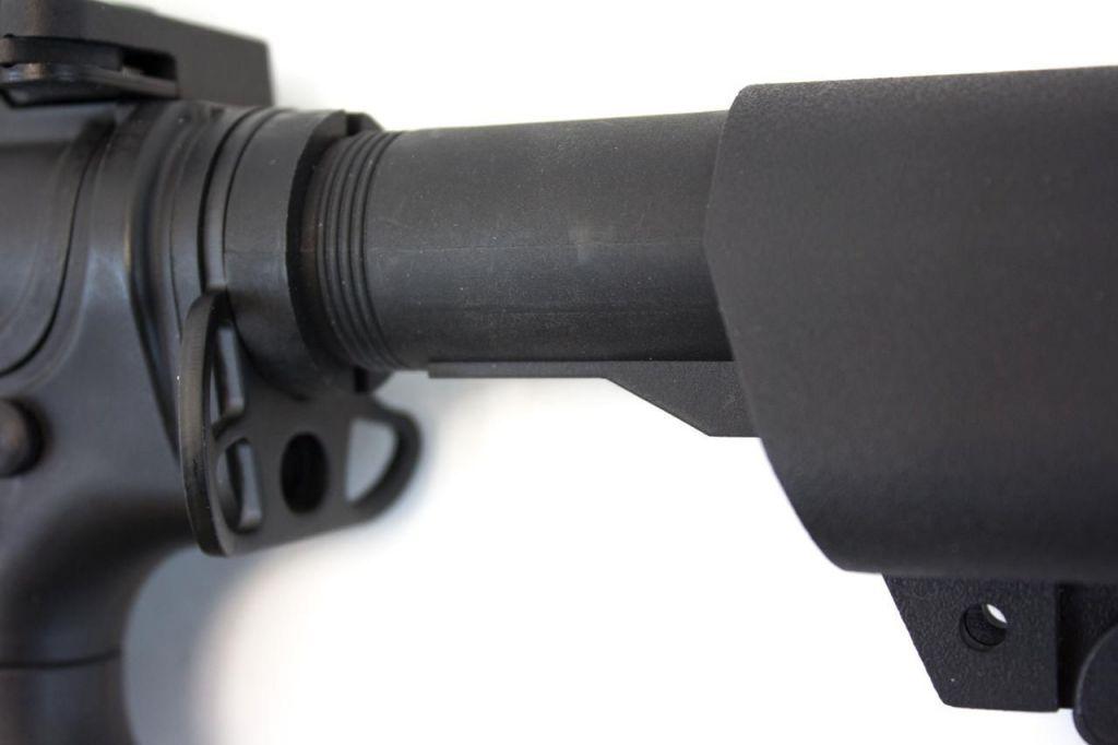 Attache sangle mono pour tube de crosse M4 AEG - Nuprol