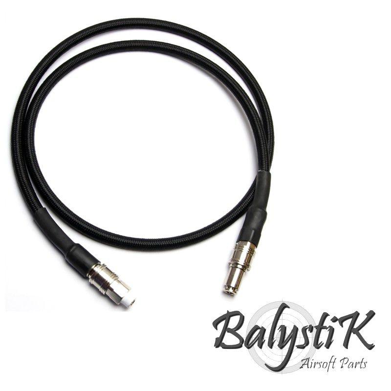 Balystik - Ligne complète HPA haut debit tressée nylon Noire (version EU)