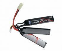 BATTERIE 3 STICKS LI-PO 11,1V - 1300 MAH