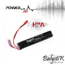 Batterie lipo 7.4V 1200mah 20C Balystik (JST)
