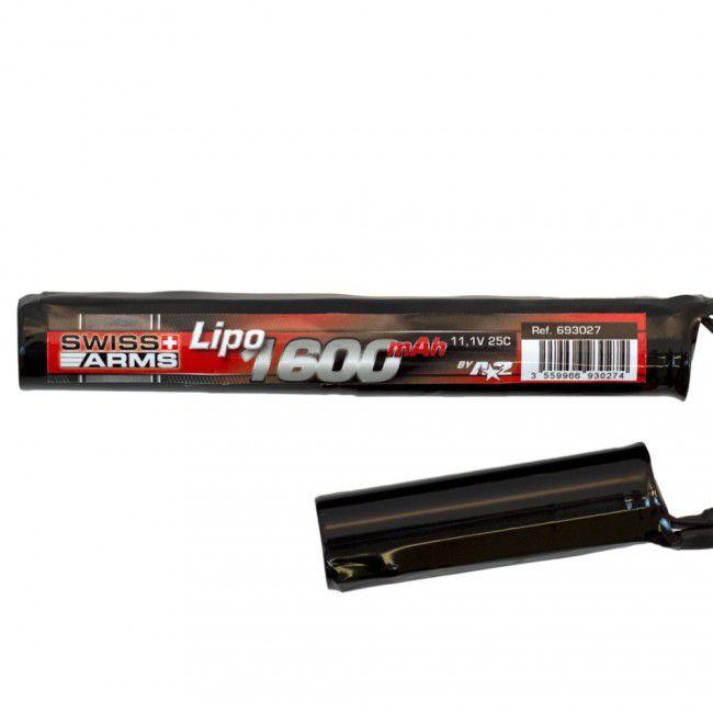 BATTERIE TWIN LI-PO 11.1 V - 25C - 1600 MAH