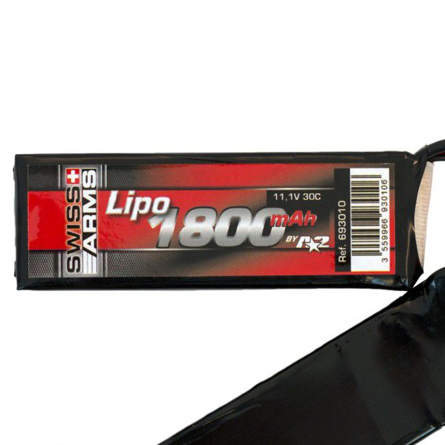 BATTERIE TWIN LI-PO 11.1 V - 30C - 1800 MAH