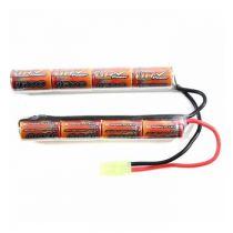 Batterie VB Power 9,6 v / 1600 mAh Double Stick pour crosse crane