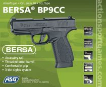 BERSA BP9CC CULASSE FIXE METAL - CO2