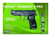 BERSA THUNDER 9 PRO - CO2