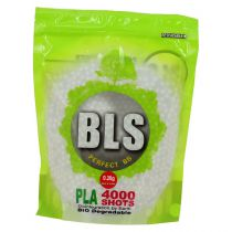 Billes Biodégradables Airsoft BLS 0,20g sachet de 4000 billes