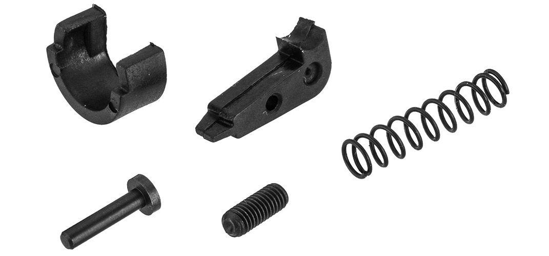 Bloc hop-up Aluminium CNC complet pour M4 AEG Lancer Tactical